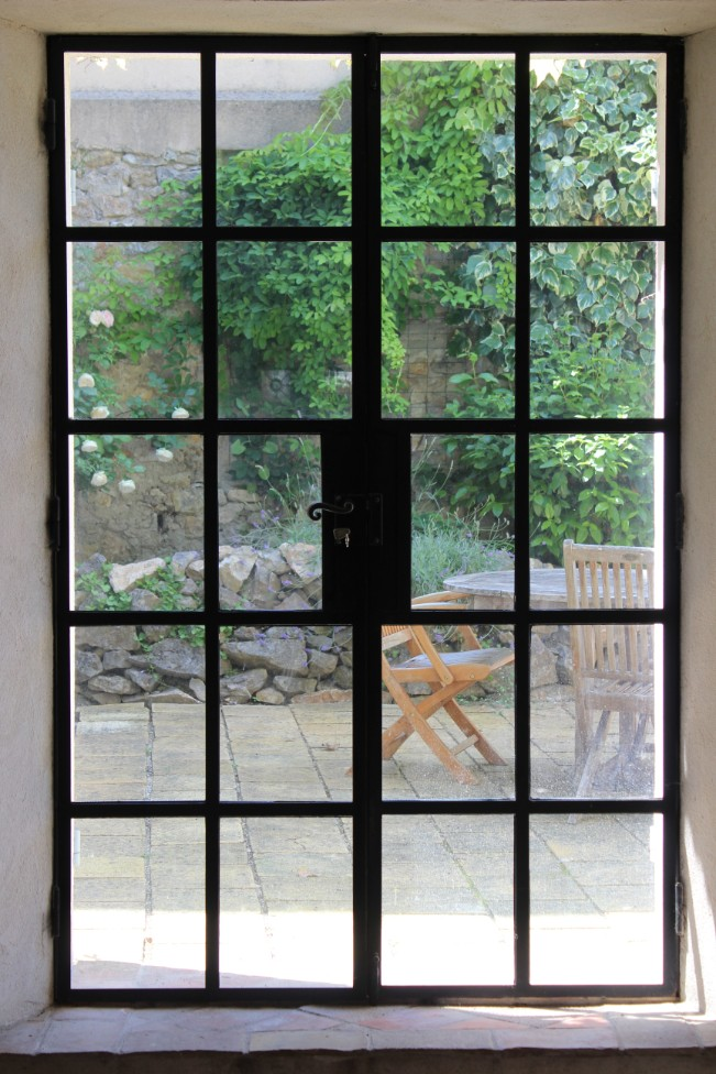 Door to courtyard